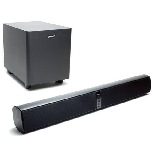 Energy Power Bar Soundbar with Wireless Subwoofer (Satin Black) (Discontinued by Manufacturer) (Energy Soundbar Subwoofer compare prices)