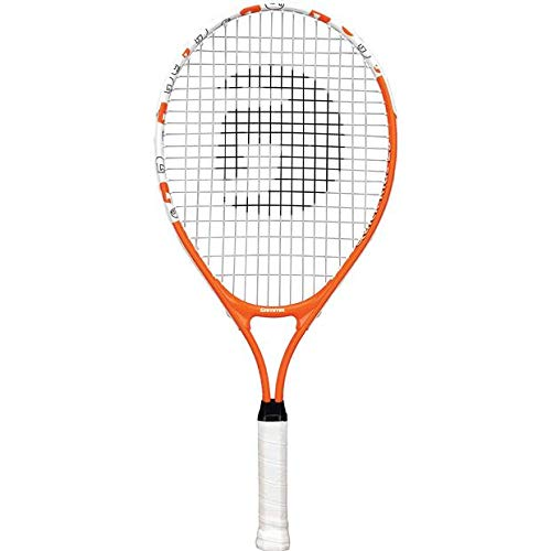 Gamma Sports Junior Tennis Racquet: Quick Kids 23 Inch Tennis Racket – Prestrung Youth Tennis Racquets for Boys and Girls – 93 Inch Head Size – Orange