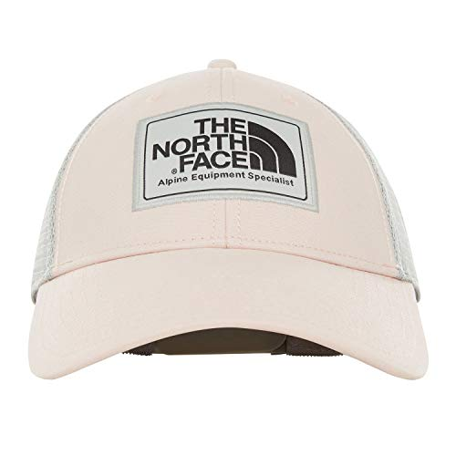 - The North Face Unisex Mudder Trucker Hat Pink Salt/Asphalt Grey One Size