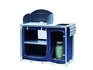 Outdoor Küchenschrank : Campingküche mit spüle windschutz campingschrank alu rahmen faltbar