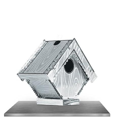 Metal Earth - Maqueta metálica Caseta para pajaros: Amazon.es: Juguetes y juegos