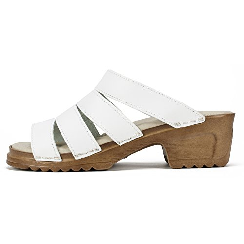 Witte Berg Schoenen Hartley Vrouwen Sandaal Wit