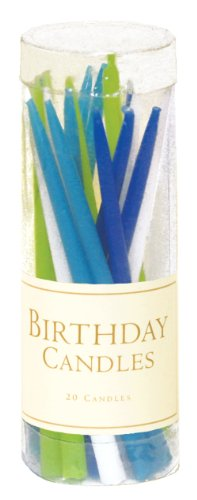 Entertaining with Caspari Birthday Candles, Ocean