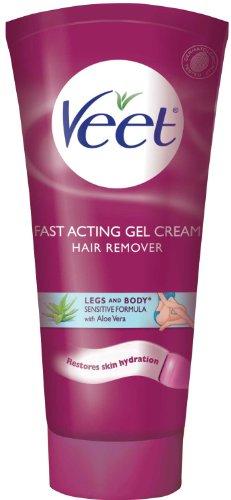 Veet Gel Cream Sensitive Formula Hair Remover with Aloe Vera
