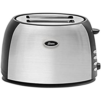 Oster 2 Slice Toaster, Brushed Stainless Steel (TSSTJC5BBK)
