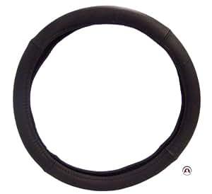 """Sumex 2505054 - Funda Volante Piel """"Luxe"""" 37 - 39 cm, Color Negro"""
