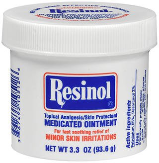 Resinol Medicated Ointment 3.30 oz (Pack of 6) by Resinol