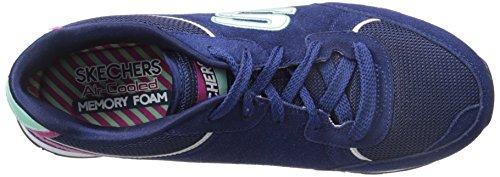 Skechers Originelen Dames Retros En 82 Fashion Sneakers Marine / Aqua