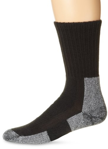 Thorlos Thick Padded Trail Hiking Crew Sock Gray L