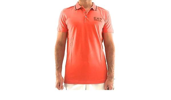 Armani EA7 - Polo para Hombre Arancio XXL: Amazon.es: Ropa y ...