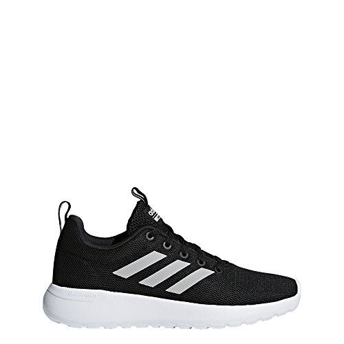 adidas Kids' Lite Racer CLN Sneaker, Black/Grey/White