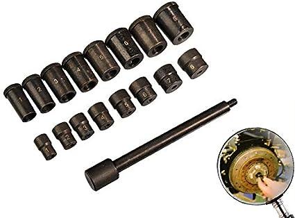 Set outils de centrage disque d/'embrayage 17 pièces