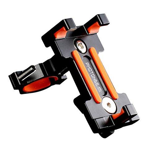 Perfk アクセサリー 部品 ユニバーサル バイク 自転車ハンドルバーホルダー 携帯電話 GPS用
