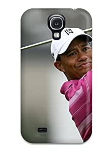 gloria crystal's Shop durable Protection Case Cover For Galaxy S4(tiger Woods)