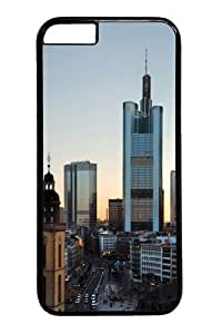 Frankfurt Skyscrapers PC for Case For Sam Sung Note 4 Cover inch Black