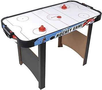 Mesa juego hockey con aire electrónica: Amazon.es: Juguetes y juegos