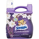 Snuggle Exhilarations Liquid Fabric Softener, White Lavender & Sandalwood Twist, 96 oz