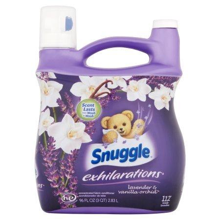 Snuggle Exhilarations Liquid Fabric Softener, White Lavender & Sandalwood Twist, 96 oz (1)
