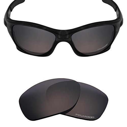 Mryok+ Polarized Replacement Lenses for Oakley Pit Bull - Stealth - Oakley Pitbull Lenses For Replacement