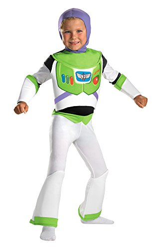 Buzz Lightyear Deluxe Toddler Costume 3t 4t - Toddler Halloween Costume