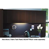 Aberdeen Series Laminate Wood Door Hutch, 72w x 15d x 39h, Mocha, Sold as 1 Each