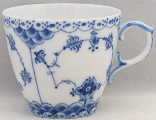 Royal Copenhagen Blue Fluted-Full Lace Flat Demitasse Cup -
