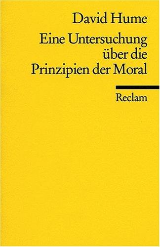 Universal-Bibliothek Nr. 8231: Eine Untersuchung über die Prinzipien der Moral