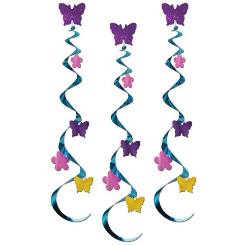 Butterflies And Flowers Whirls : package of 3 (Themes For Dressing Up In Groups)