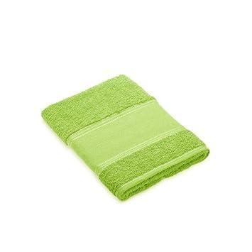 Toalla tocador verde pistacho para bordar a punto de cruz: Amazon.es: Hogar