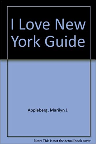 A mock cover design for the i love new york travel & camping.