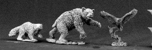 Dark Heaven Legends Classics: Animal Companions 1 by - Tiger Miniature