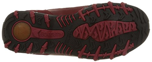 Allrounder by Mephisto NIGATA-TEX RUBBER 1/O.SUEDE 52 BLACK/GRAPHIT - Zapatos para caminar de goma mujer Rot (BLACK/MID RED)