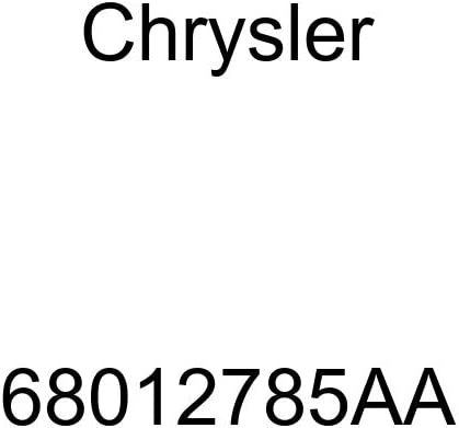 Genuine Chrysler 68012785AA Air Conditioning Heater Hose