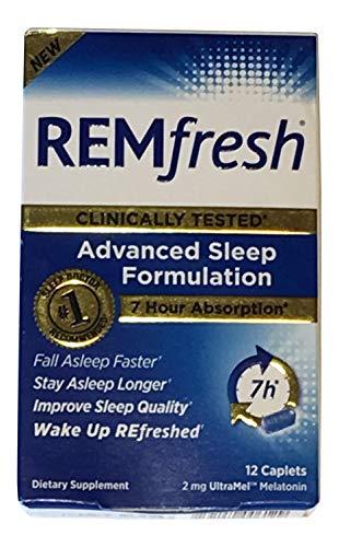 Remfresh Advanced Sleep Melatonin,12 Caplets
