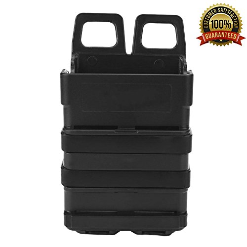 Sharktical 223 Rigid Magazine Pouch for M4 Style Mag, Belt or MOLLE Version - Black