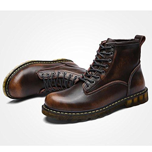 MatchLife para Zapatos cordones Bronze de Fleece hombre rCSqzrx