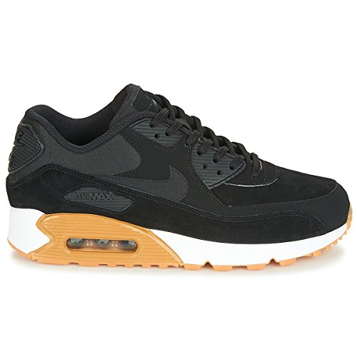 white black Chaussures gum Nike Air Brown Femme black Gymnastique Schwarz De Light Max Se 90 wvZB6q