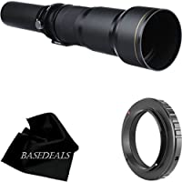 Vivitar 650-1300mm f/8-16 SERIES 1 Telephoto Zoom Lens for Nikon D40, D60, D90, D200, D300, D300s, D3, D3s, D3x, D700, D3000 & D5000 Digital SLR Cameras