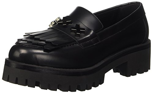 Cult Slayer Cle102706, Mocasines para Mujer negro