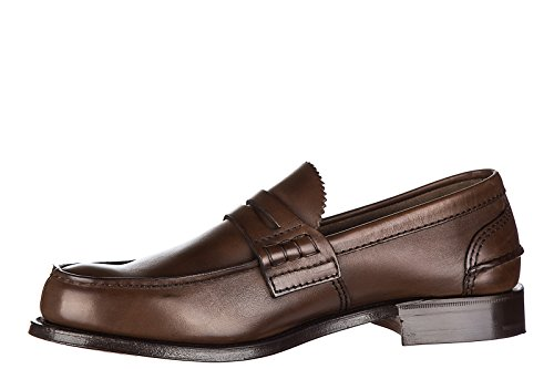 Church's mocassins homme en cuir prestige marron