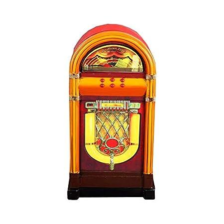 Spiksplinternieuw Opbergkast wandkast meubel Jukebox retro vintage: Amazon.co.uk QN-68