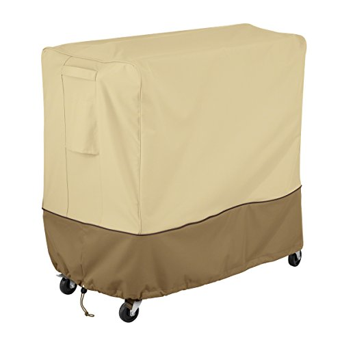 Classic Accessories Veranda Patio 80 Quart Rolling Patio Cooler Cover ()