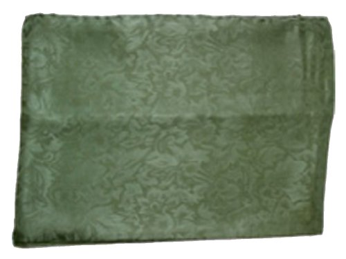 Wyoming Traders Mens Solid Silk Wild Rag Scarf Sage Green