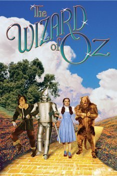 The Wizard Of Oz Poster - The Yellow Brick Road