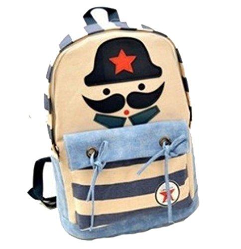 Cozyswan® Fashion Girl Lady Student Canvas Backpack Rucksack School Bag