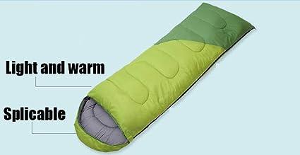JKLL Saco de Dormir de 0 Grados a 20 Grados Fahrenheit por 4 Estaciones Ligero,