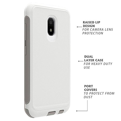 Asus Zenfone V Live Case Rugged Heavy Duty Dual Layer White A009 V500KL (IKON CASE) by IKON CASE