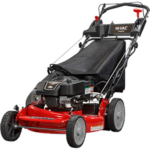 Snapper P2185020E / 7800982 HI VAC 190cc 3-N-1 Rear Wheel Drive Variable Speed Self Propelled Lawn Mower with 21-Inch Deck and ReadyStart System and 7 Position Heigh-of-Cut - Electric Start Option ()