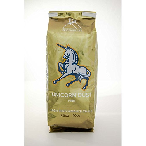 FrictionLabs Unicorn Dust 10oz (283g) - Fine Texture - The New Standard in Chalk for Rock Climbing, Crossfit, and Powerlifting