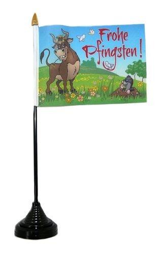 Fahne Tischflagge Frohe Pfingsten Tischfahne Flagge